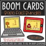 Basic Math Facts BOOM Card™ Bundle (Fall Edition)