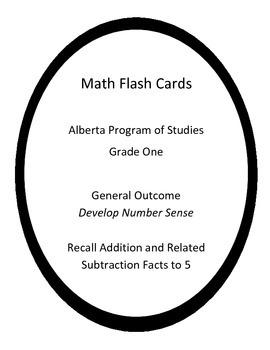 Basic Math Facts Flash Cards