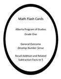 Basic Math Facts Flash Cards