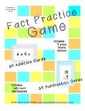 Basic Math Facts Game