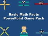 Basic Math Facts PowerPoint Game Pack