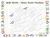 Basic Math Facts Practice Grids