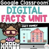 Basic Math Facts on Google Slides Addition and Subtraction