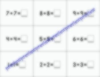Basic Math Flash Cards - Simple Addition Set