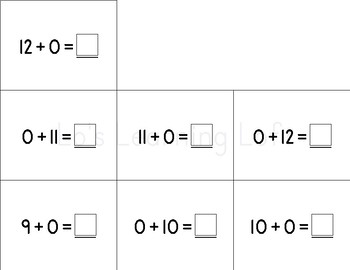 Basic Math Flash Cards - Simple Addition and Subtraction Set