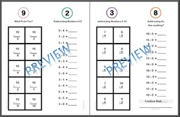 Basic Math Fluency Home Books
