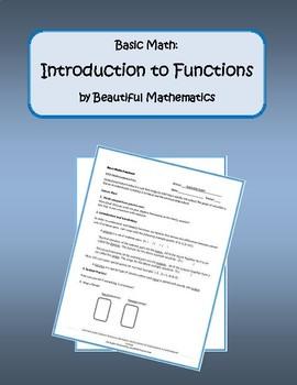 Basic Math: Functions