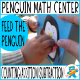 """Math Game """"The Penguin wants to eat"""" Numbers to 20."""