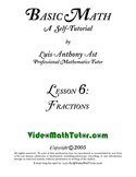 Basic Math: Lesson 6 - Fractions