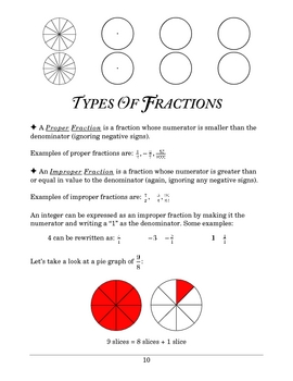 Basic Math: Lesson 6 - Fractions