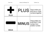 Basic Math Signs Flashcards