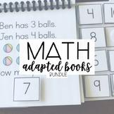 Basic Math Skills: Adapted Books Bundle