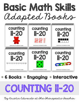 Basic Math Skills: Counting 11-20 Adapted Books