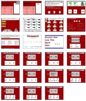 Basic Math Skills - Full Unit (SMART BOARD w/ Worksheets)