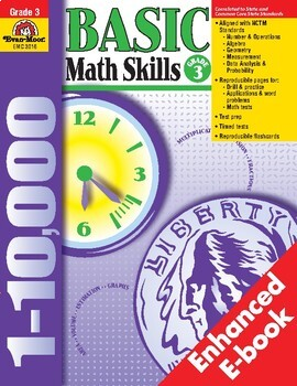 Basic Math Skills, Grade 3