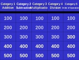 Basic Math Skills Jeopardy Powerpoint