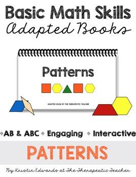 Basic Math Skills: Patterns Adapted Books