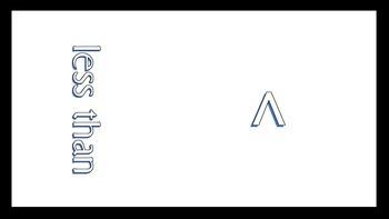 Basic Math Symbols - Less Than, Greater Than, etc