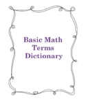 Basic Math Terms Dictionary