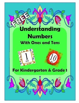 Basic Math: Understanding Numbers for Kindergarten & Grade 1