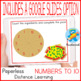 Basic Math fun game. How many ingredients the pizza has? Numbers 1-10