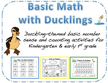 Counting and Number Sense with Ducklings