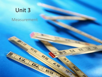 Basic Measurement Review