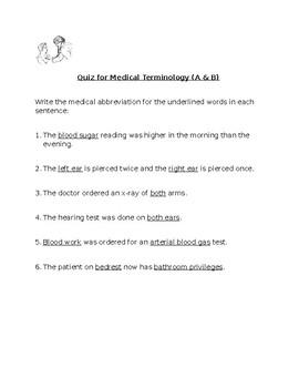 Medical Terminology (Basic): Pre-med - Part 1
