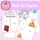 Basic Meet the Teacher Flyer