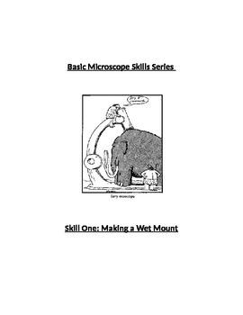 Basic Microscope Skill 1: Making a Wet Mount