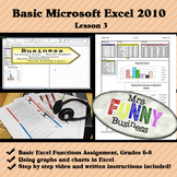 Basic Microsoft Excel 2010 with Video Lesson 3 of 3