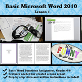 Basic Microsoft Word 2010 with Video Lesson 1 of 3