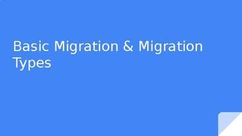 Basic Migration Types