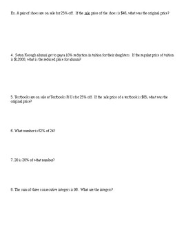 Basic Modeling Worksheet #2