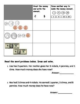 Basic Money Printable