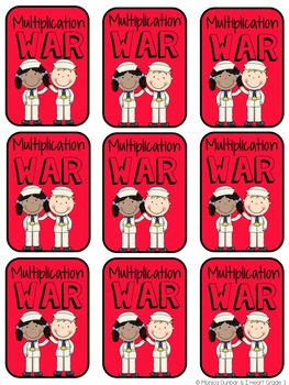 Basic Facts War: Multiplication