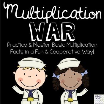 Multiplication War Card Game