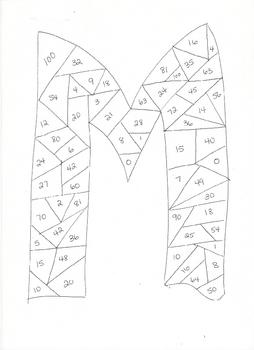 Basic Multiplication Dice Game