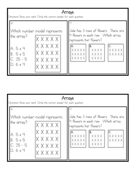 Basic Multiplication & Division Skills Review Packet {Common Core Concepts}