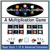 Basic Multiplication Fact Fluency Game (Facts 1-12)-Math C
