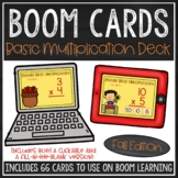 Basic Multiplication Facts BOOM Cards™ (Fall Edition)