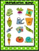 Basic Multiplication Facts Bump - Spring Garden Theme