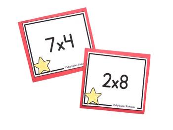 Basic Multiplication Facts Flashcards | Flashcards for Basic Facts