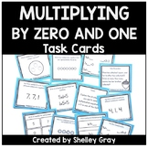 Basic Multiplication Facts Task Cards: Multiplying by 0 and 1
