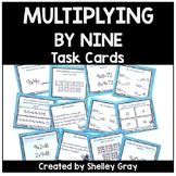 Basic Multiplication Facts Task Cards: Multiplying by 9