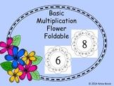 Basic Multiplication Foldable