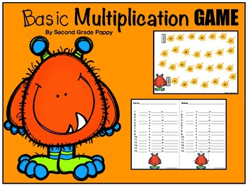 Basic Multiplication Game