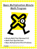 Basic Multiplication Minute Math Program