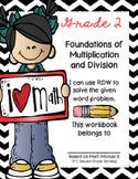 Basic Multiplication Story Problems Workbook