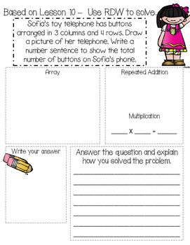 Basic Multiplication Story Problems Workbook